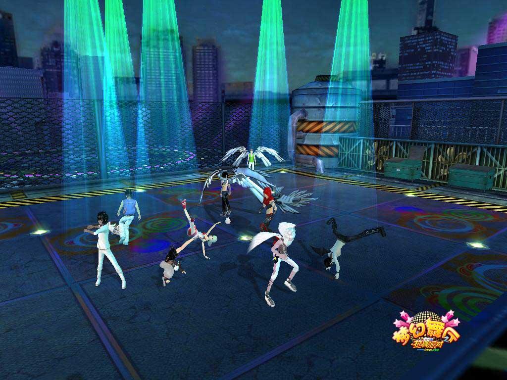 地下舞厅_金秋十月《梦幻舞厅》 领跑舞蹈网游